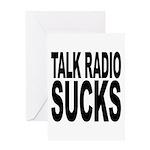 Talk Radio Sucks Greeting Card