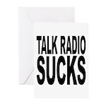 Talk Radio Sucks Greeting Cards (Pk of 10)