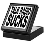 Talk Radio Sucks Keepsake Box
