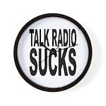 Talk Radio Sucks Wall Clock