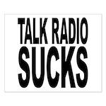 Talk Radio Sucks Small Poster