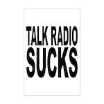 Talk Radio Sucks Mini Poster Print