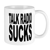 Talk Radio Sucks Small Mug