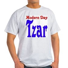 Modern Day Tzar Ash Grey T-Shirt