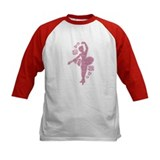 Ballet Dancer With Flowers Tee