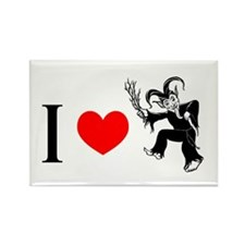 I *heart* Krampus Rectangle Magnet (10 pack)