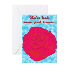 gentle breakup Greeting Cards (Pk of 10)