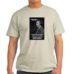 Politics: Edmund Burke Ash Grey T-Shirt