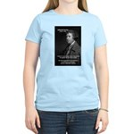 Politics: Edmund Burke Women's Pink T-Shirt