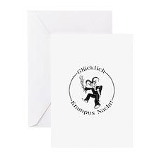 Glucklich Krampus Nacht! Greeting Cards (20 pack)