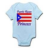 Puerto Rican Princess Infant Creeper