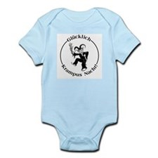 Glucklich Krampus Nacht! Infant Bodysuit