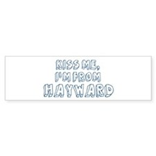 Kiss me: Hayward Bumper Sticker (10 pk)