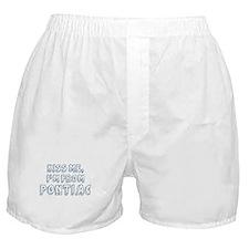 Kiss me: Pontiac Boxer Shorts