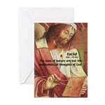 Euclid: Math and Philosophy Greeting Cards (Packag