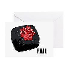 Coal Fail Greeting Card