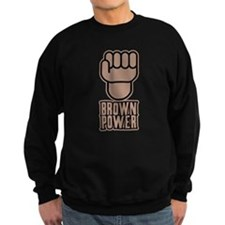 Brown Power Sweatshirt