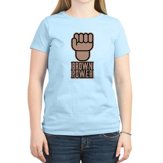 Brown Power Women's Light T-Shirt