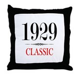 1929 Throw Pillow