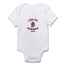 I LOVE GG GIRL Infant Bodysuit