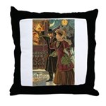 New Year Gala Throw Pillow