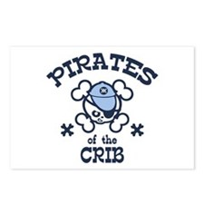 Pirates of the Crib Postcards (Package of 8)