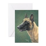 Belgian Malinois Greeting Cards (Pk of 20)