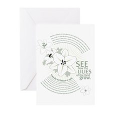 Lilies of The Field: Greeting Cards (Pk of 20)