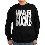 War Sucks Sweatshirt (dark)