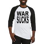 War Sucks Baseball Jersey