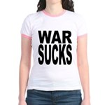 War Sucks Jr. Ringer T-Shirt