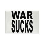 War Sucks Rectangle Magnet (10 pack)