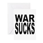 War Sucks Greeting Cards (Pk of 20)