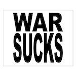 War Sucks Small Poster