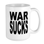 War Sucks Large Mug