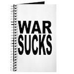 War Sucks Journal