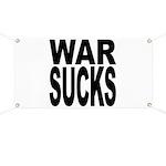 War Sucks Banner