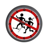 Playing Children Not Allowed, Spain Wall Clock