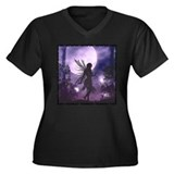 Dancing in the Moonlight Women's Plus Size V-Neck