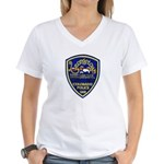 Georgetown Police Women's V-Neck T-Shirt