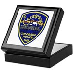 Georgetown Police Keepsake Box