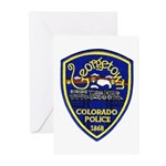 Georgetown Police Greeting Cards (Pk of 20)