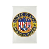 Merchant Marine Mason Rectangle Magnet (10 pack)