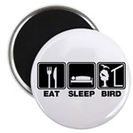 Eat Sleep Bird (v2) Magnet