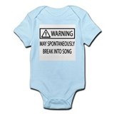 Spontaneous Singer BW Infant Bodysuit