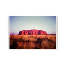 Uluru: Unique Moment Rectangle Magnet
