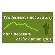 Edward Abbey Bumber Sticker!