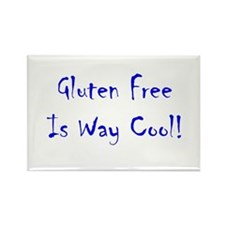 Gluten Free Is Way Cool! Rectangle Magnet