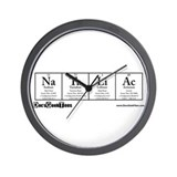 Na Ta Li Ac Transparent Wall Clock