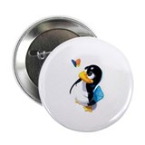 "Tux swats windows 2.25"" Button (100 pack)"